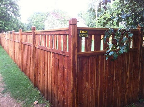 Nashville reliable affordable wood aluminum fence installation yard fencing company contractor