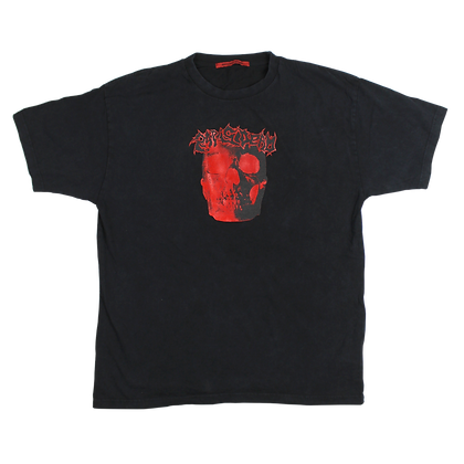 RAP IS DEAD TEE WASHED BLACK