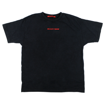 3D TEE WASHED BLACK