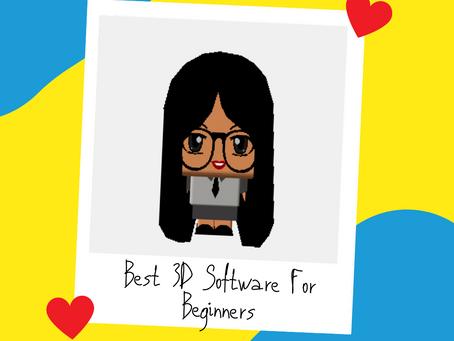 Best 3D Software For Beginners