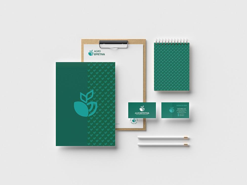 Identidade Visual criada para a empresa Agro Effetiva