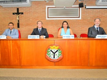Ana Mondini é a presidente da Câmara