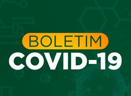 BOLETIM COMITÊ DE CONTINGÊNCIA DO CORONAVÍRUS.