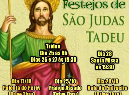 Quermesse de São Judas: Drive Thru de Polenta, Bolo e Frango