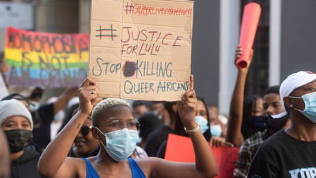LGBTQ South Africans Demand Justice After Hate Crime Wave