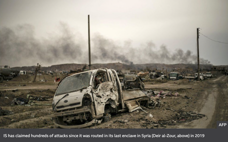 IS brutality returning to Syrian towns