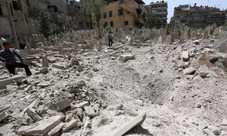 'A crime on top of a crime': Assad regime reburies Aleppo's war dead