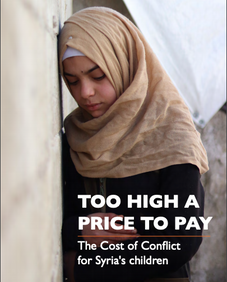 Too High a Price to Pay: The Cost of Conflict for Syria's children