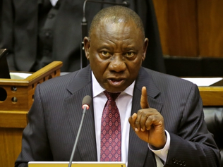 South Africa president says farm attacks not 'racially motivated'