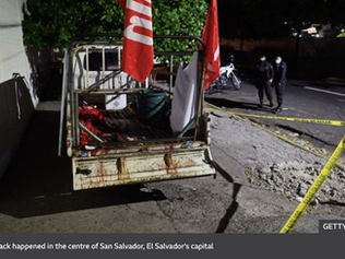 El Salvador violence: Deadly attack on party activists