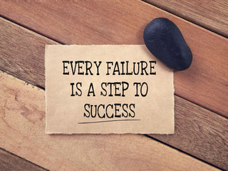 Is failure normal?
