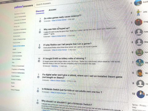 Goodbye, Yahoo Answers