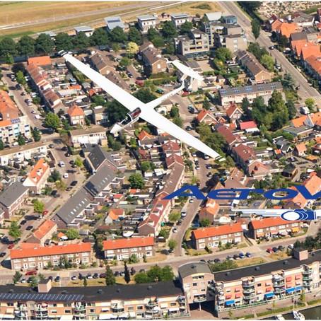 Unieke luchtfoto in de maak!