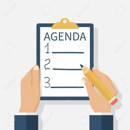 Agenda Algemene Ledenvergadering