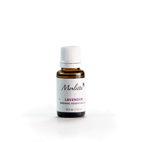 Lavender Organic Essential Oil, 15ml