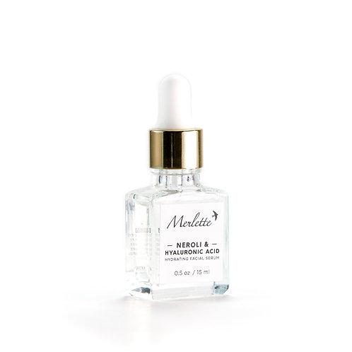 Neroli Hydrating facial serum with Hyaluronic Acid, 15 ml.