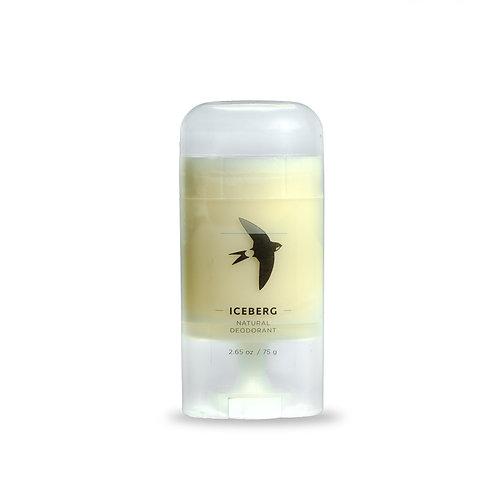 ICEBERG Natural Deodorant, 2,65 oz / 75 g