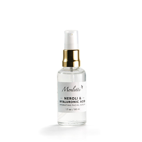 Neroli Hydrating facial serum with Hyaluronic Acid, 50 ml.