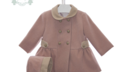 Macie Coat and Bonnet Set