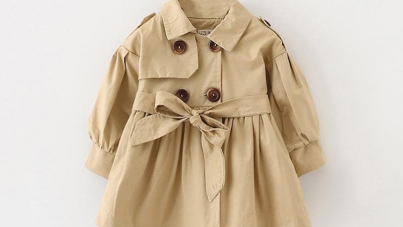 Baby Girl Trench Coat