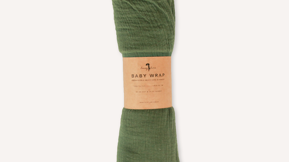 Forest Baby Wrap