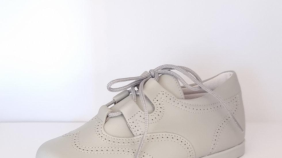 Gaelic Brogue Shoes - Grey