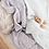 Thumbnail: White | Diamond Knit Baby Blanket
