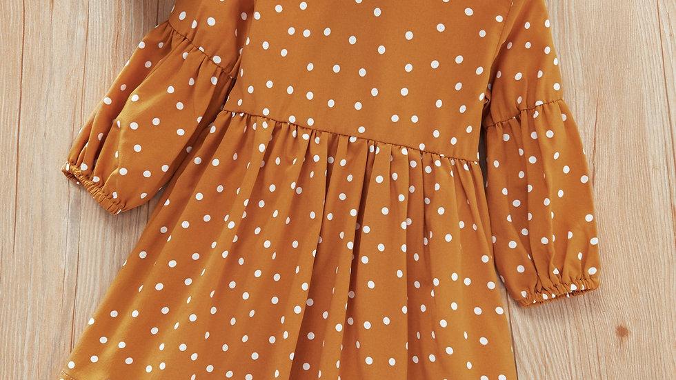 Little Girl Polka Dot Dress