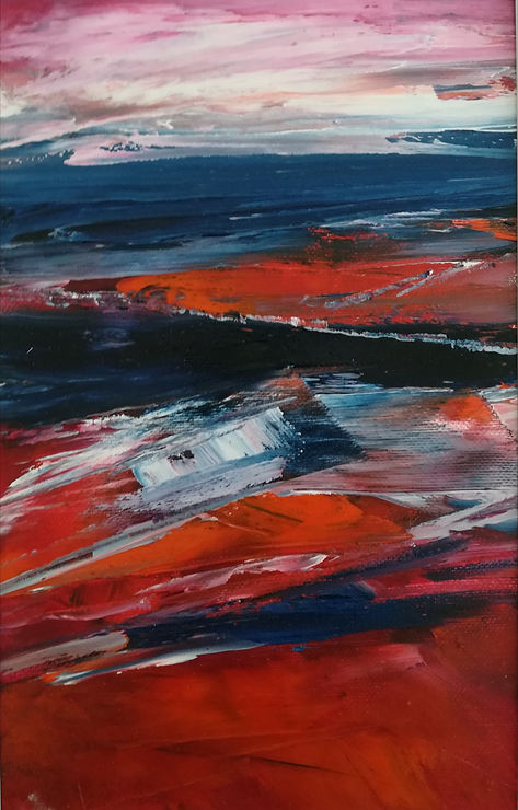 AtelierGalleriet Ulla Houe - maleri landskab
