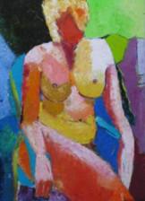 Ulla Houe maleri model 21