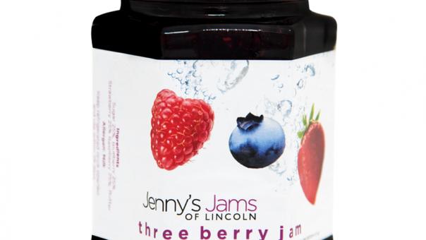 Three Berry Jam