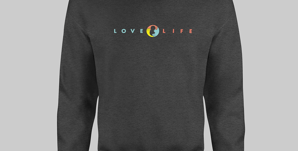 Donor Promo: Love Life Sweatshirt