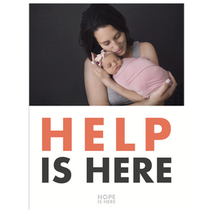 Help Is Here 3'x4' Sign