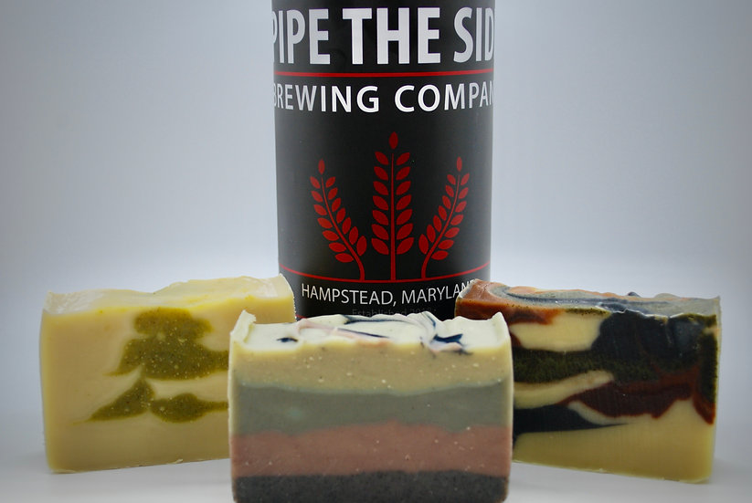 Pipe the Side Beer Soaps