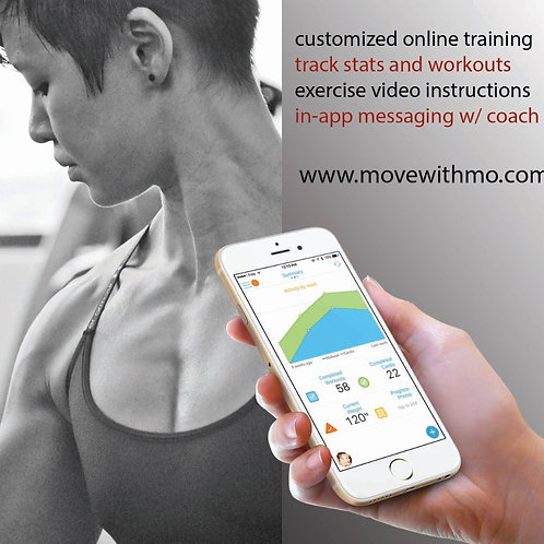 4 weeks Online Personal Training