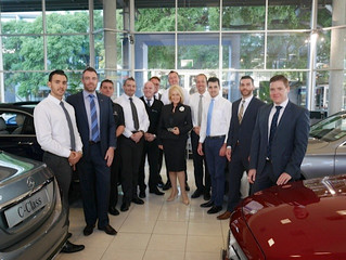 Mercedes Benz Brisbane, Corporate Image Training