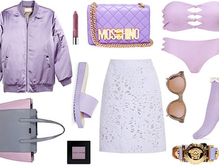Lavender and Icy Lilac