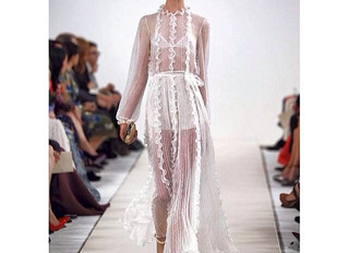 Grace walks for Valentino in NY