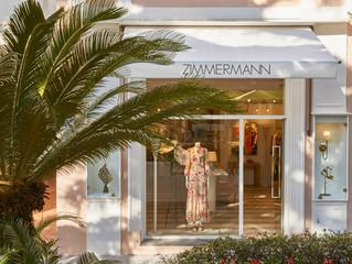 Zimmermann opens their first Italian boutique in Capri.