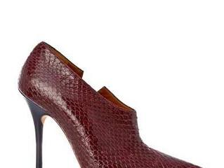 Gigi style snakeskin boot shoe