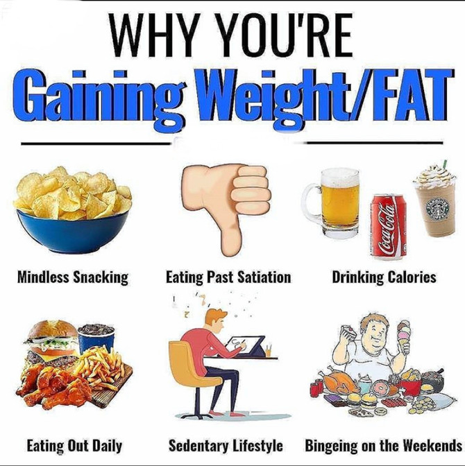 Why Are You Gaining Weight/Fat?