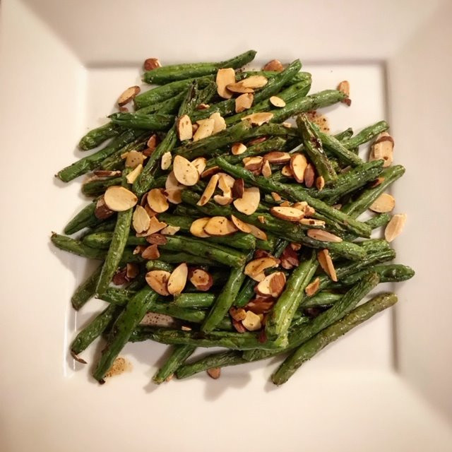 Green Beans tossed in a Butter Balsamic Sauce