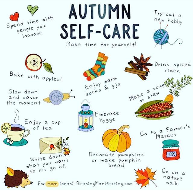 Autumn Self-Care Tips Vol 2