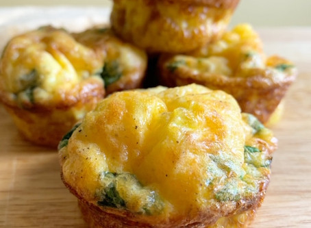 Spinach & Egg Muffins