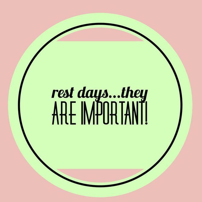 Rest is Just as Important as Working Out!