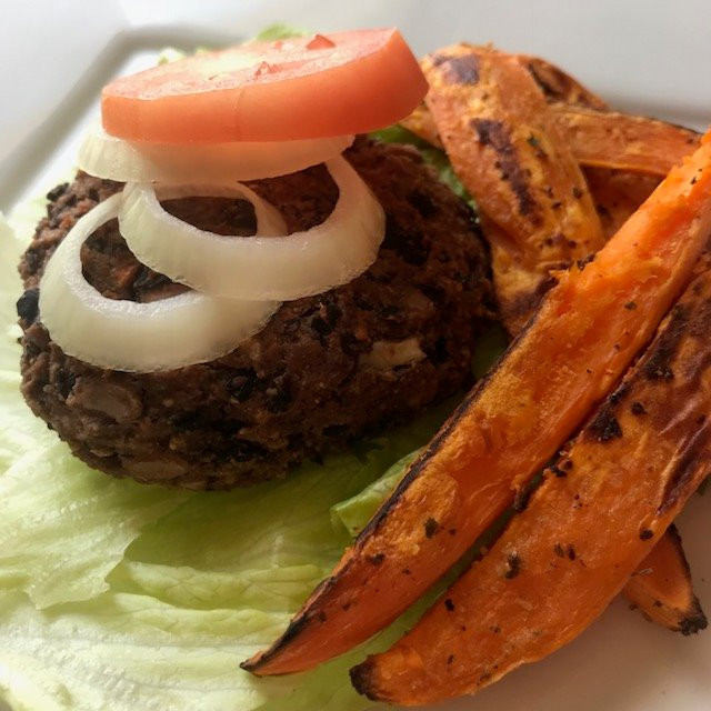 Quick & Easy Black Bean Burger