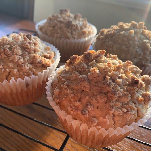 Oatmeal Streusel Muffins