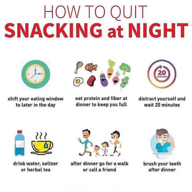 How to Quit Snacking at Night