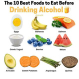 10 Best Foods to Eat Before Drinking Alcohol