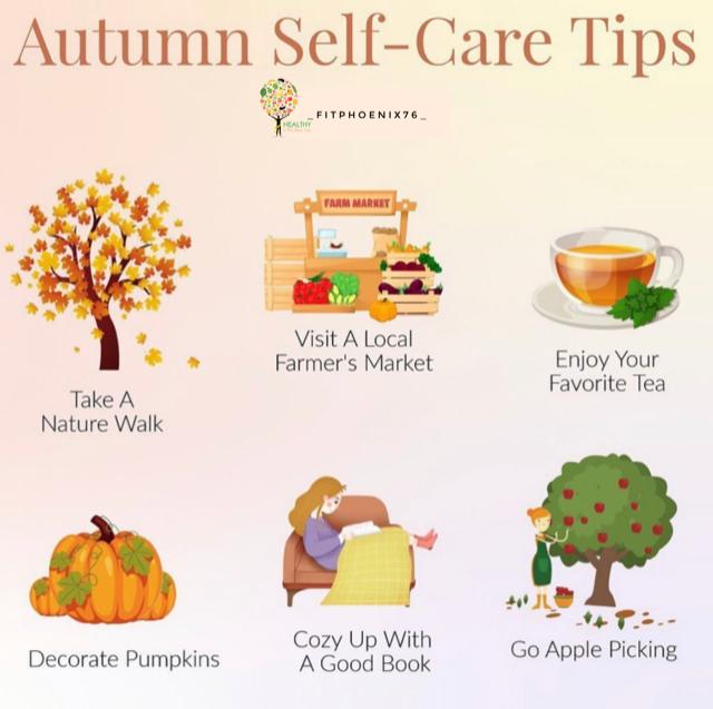 Autumn Self-Care Tips Pt 1